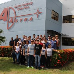 Visita a Ad Astra Rocket y Universidad EARTH (04-08-2017)