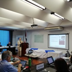 "Seminario ""Stronger food and drugs regulatory systems abroad"" a cargo de la Academia Nacional de Ciencias de los Estados Unidos."